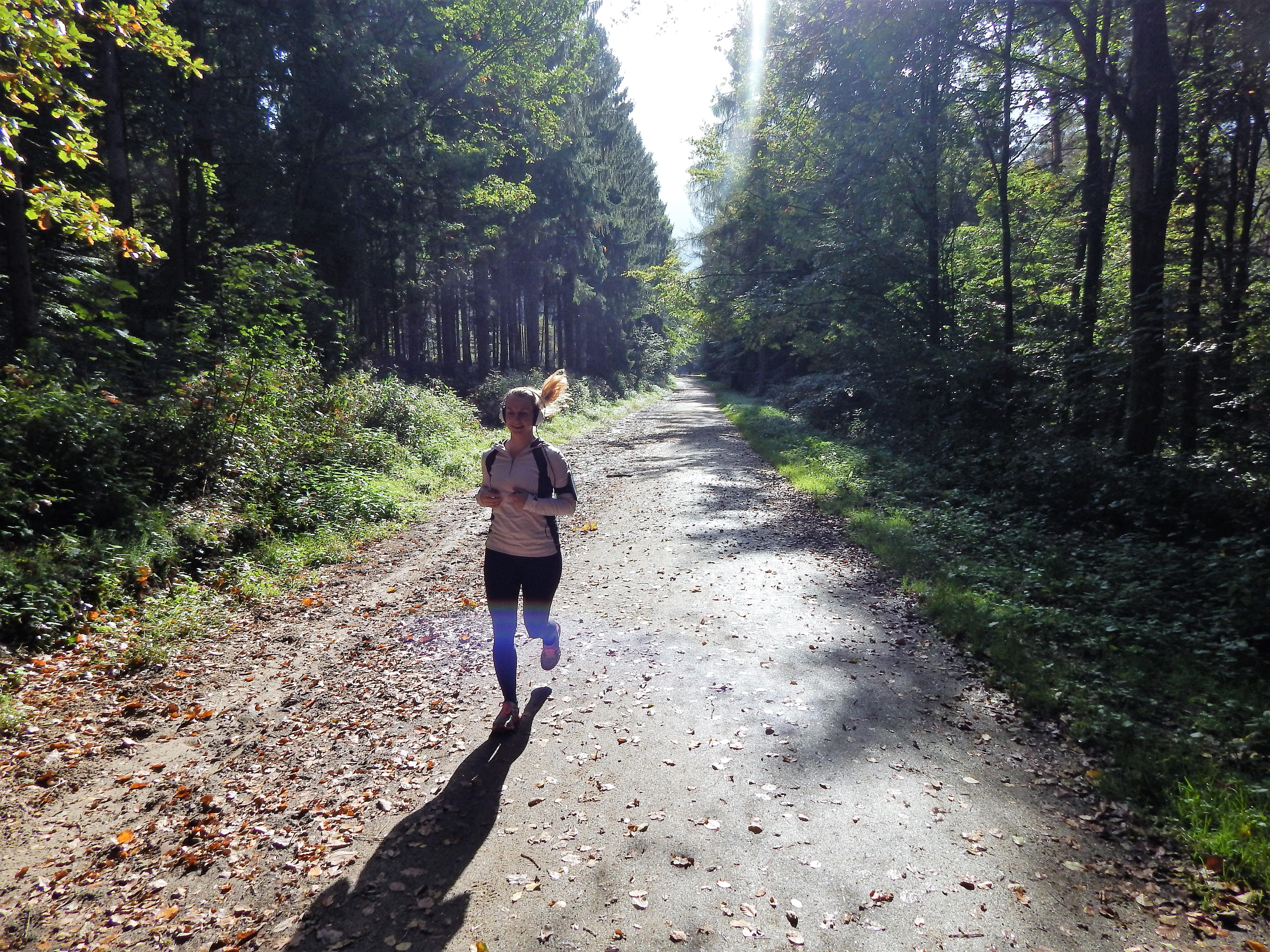 Laufstrecke in Lohmar