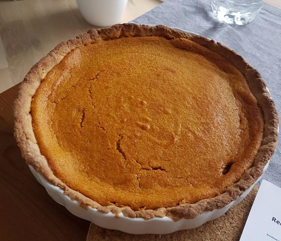 Pumpkin Pie zum Martinsgans-Essen